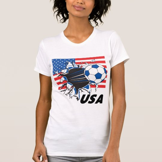 Team USA Soccer T-Shirt