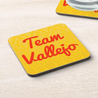 Team Vallejo Drink Coasters