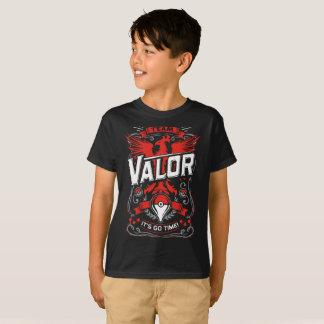 Team Valor - It's Go Time T-Shirt