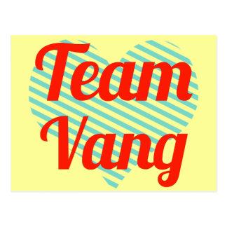 Team Vang Postcard