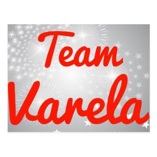 Team Varela Postcard