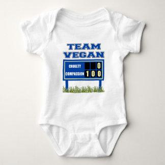 Team Vegan Baby Baby Bodysuit