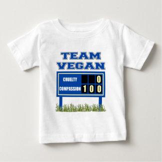 Team Vegan Baby T-Shirt