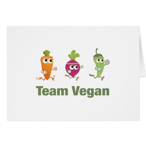 Team Vegan Cards