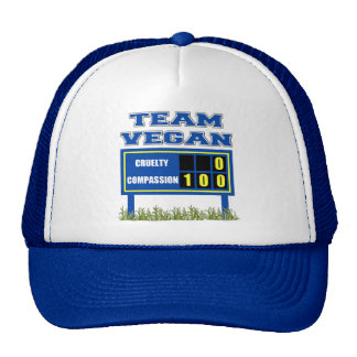Team Vegan Hat/Cap