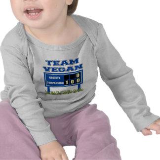 Team Vegan Long Sleeved Baby T-Shirt