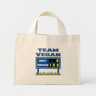 Team Vegan Tote Bag