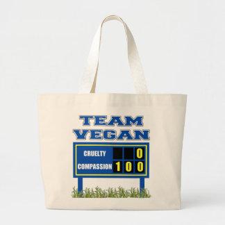 Team Vegan Tote Bag Gift For Vegan