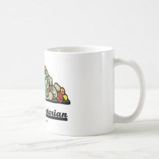 Team Vegetarian (Vegetarian Attitude / Spirit) Classic White Coffee Mug