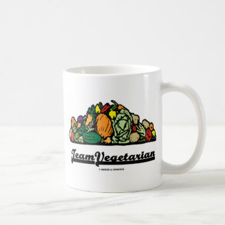 Team Vegetarian (Vegetarian Attitude / Spirit) Coffee Mug