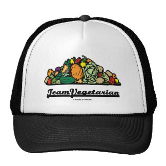 Team Vegetarian (Vegetarian Attitude / Spirit) Trucker Hat