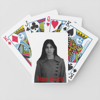 Team Victoria Bicycle Playing Cards