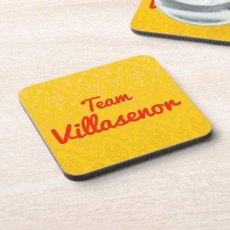 Team Villasenor Beverage Coasters
