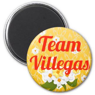 Team Villegas 2 Inch Round Magnet