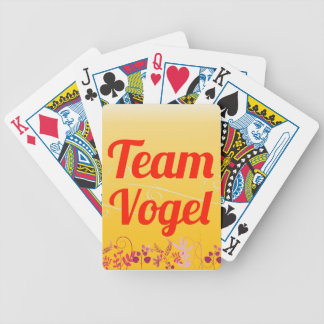 Team Vogel Bicycle Playing Cards