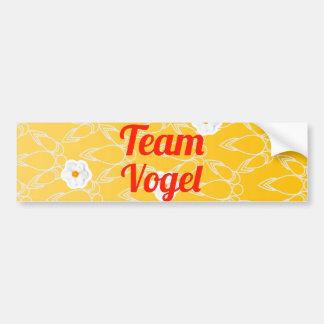 Team Vogel Bumper Sticker