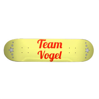 Team Vogel Skateboard Deck