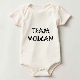 TEAM VOLCAN BLACK LOGO BABY BODYSUIT