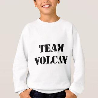 TEAM VOLCAN BLACK SWEATSHIRT