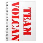 TEAM VOLCAN RED Notebook