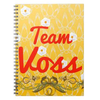 Team Voss Spiral Notebook