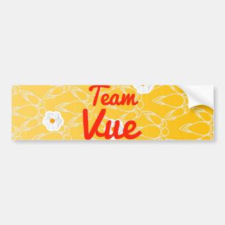 Team Vue Car Bumper Sticker