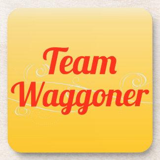 Team Waggoner Beverage Coasters