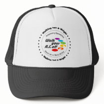 Team Walking Tall & Wright - Walk Your A.S. Off Trucker Hat