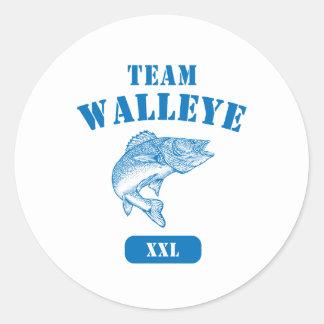 Team Walleye Classic Round Sticker