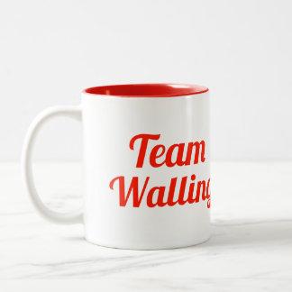 Team Walling Two-Tone Coffee Mug