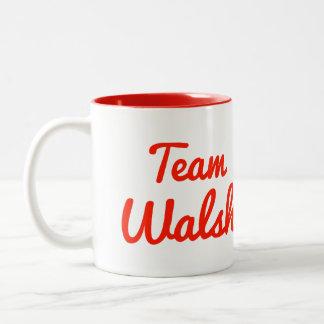 Team Walsh Mug