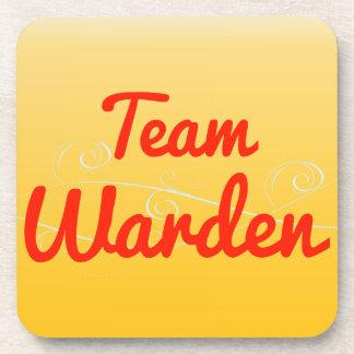 Team Warden Beverage Coasters