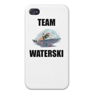 Team Waterski iPhone 4/4S Cover
