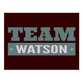Team Watson Postcard