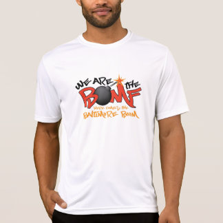 Team We are the BOMF with Back T Shirt