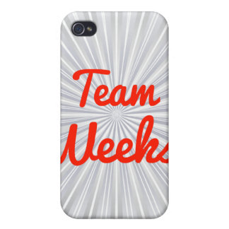 Team Weeks Case For iPhone 4