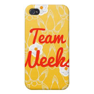Team Weeks iPhone 4 Cover