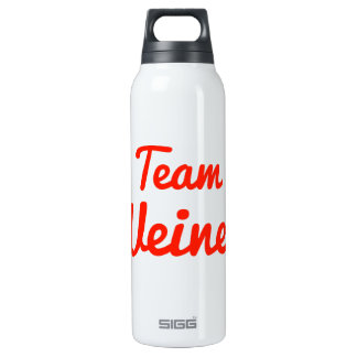 Team Weiner 16 Oz Insulated SIGG Thermos Water Bottle