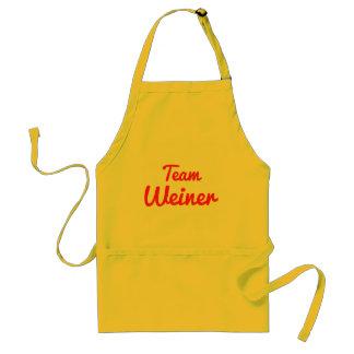 Team Weiner Adult Apron