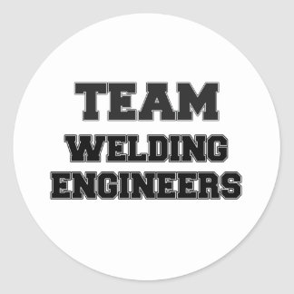 Team Welding Engineers Classic Round Sticker