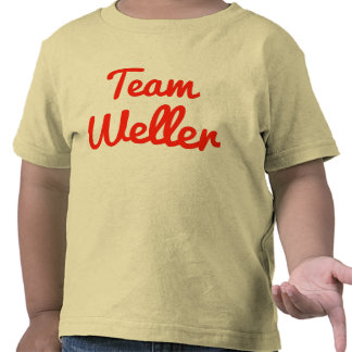 Team Weller T-shirts