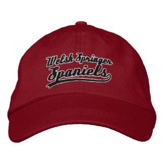 Team Welsh Springer Spaniel Embroidered Baseball Caps