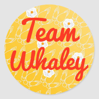 Team Whaley Stickers