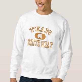 Team White Meat Thanksgiving Sweatshirt
