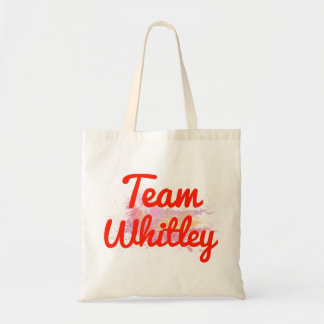 Team Whitley Tote Bag