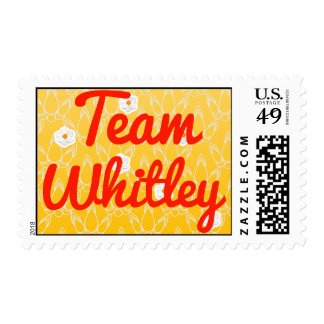 Team Whitley Postage