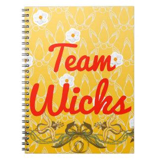 Team Wicks Journals
