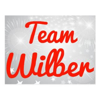Team Wilber Postcard
