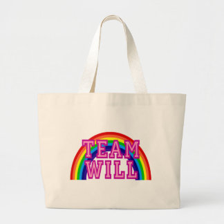 Team Will Large Tote Bag