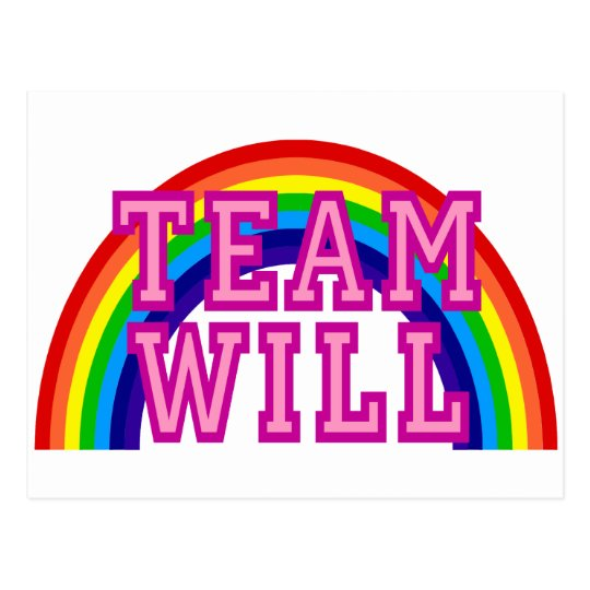 Team Will Postcard